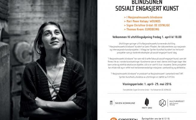 Invitation Blindsonen / Exhibition Spriten Kunsthall
